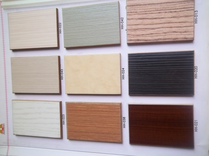China Wood Grain Uv Coating Board For Kitchen Cabinet Door