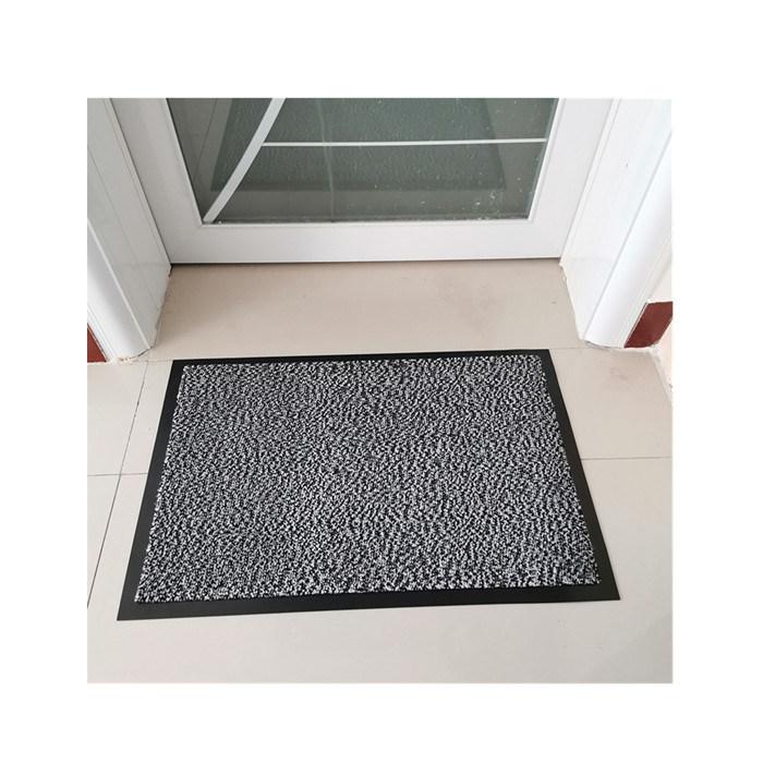 GREY 60x90 cm BARRIER MAT NON SLIP RUBBER BACK KITCHEN DOOR HOME HALL RUNNER