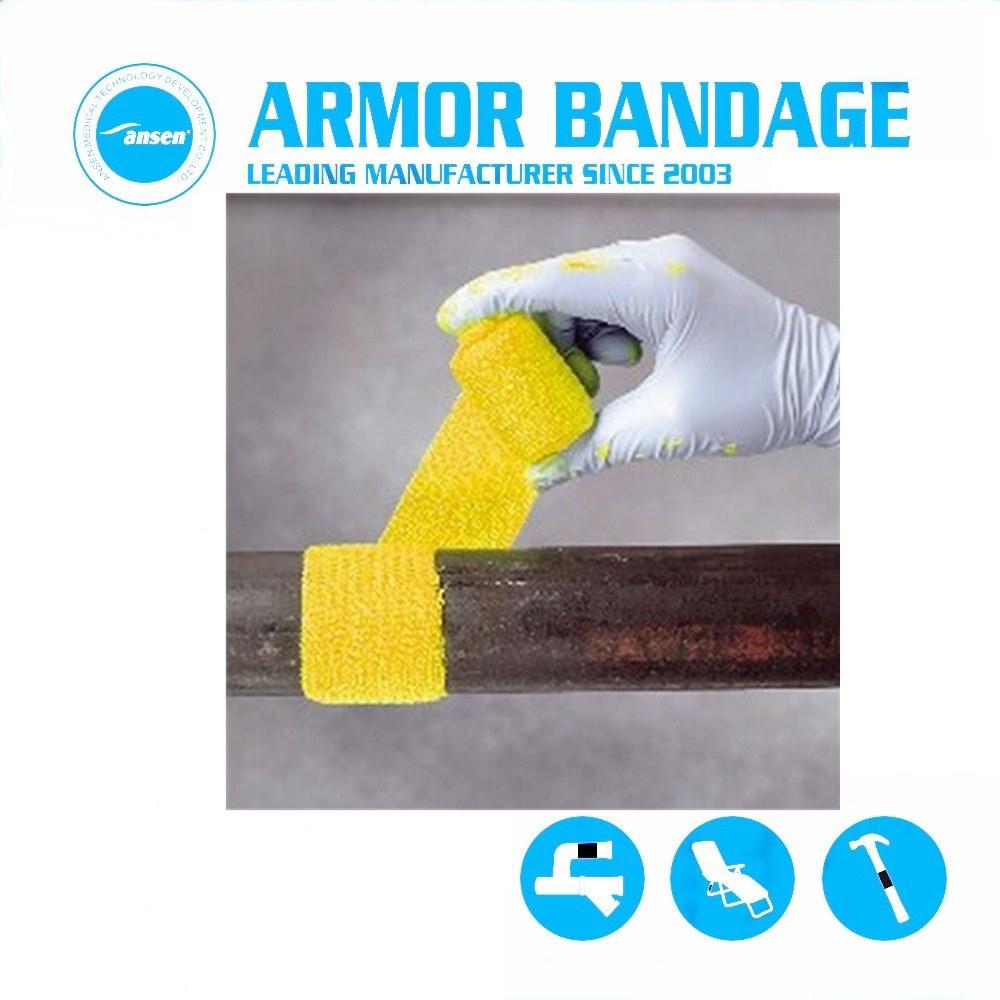 [Hot Item] Water Gas Oil Pipe Repair Armor Wrap Bandage Leak Repair Bandage  with Sealing Steel Putty