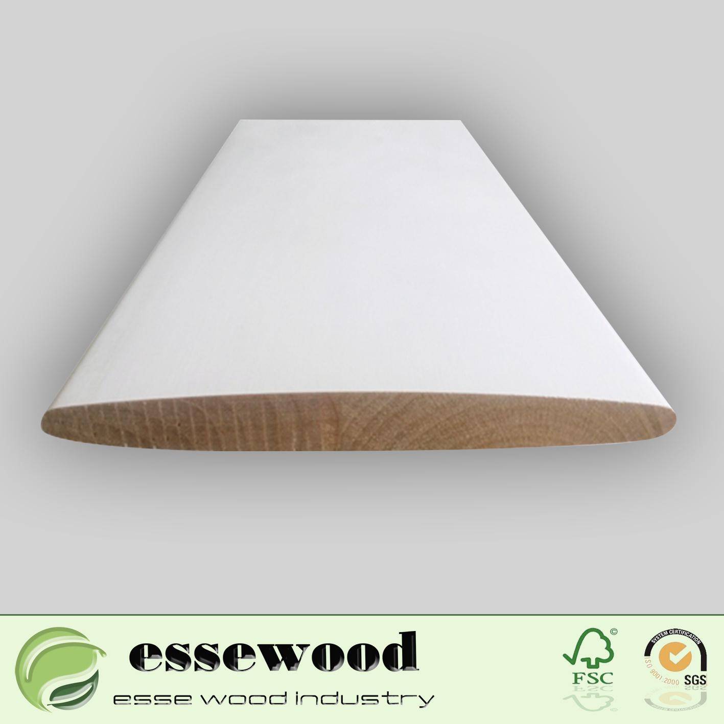 Hot Item Primer Interior Wood Window Plantation Shutter Louver Shutter Blind