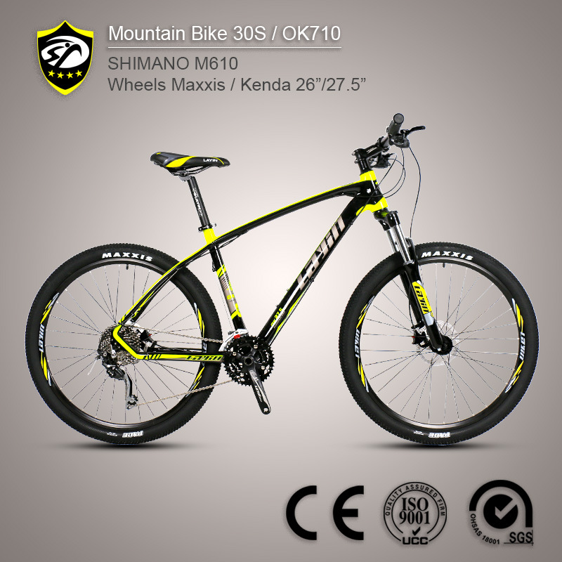 China Bicycle Manufacturer Shimano Deore M610 Aluminum Alloy ...