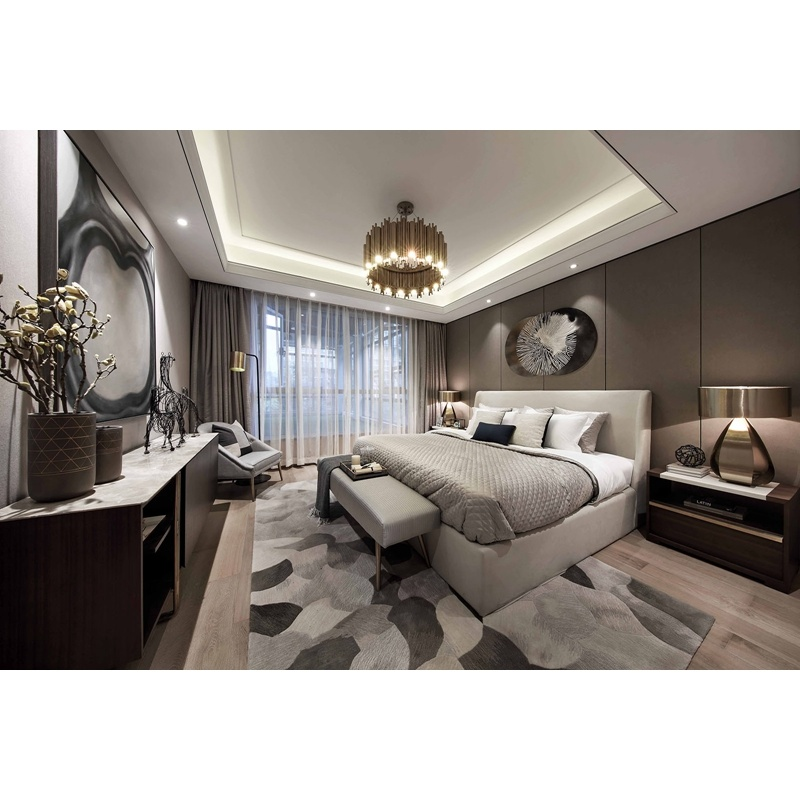 China Contemporary Master Bedroom Furniture Full Set Luxury ...