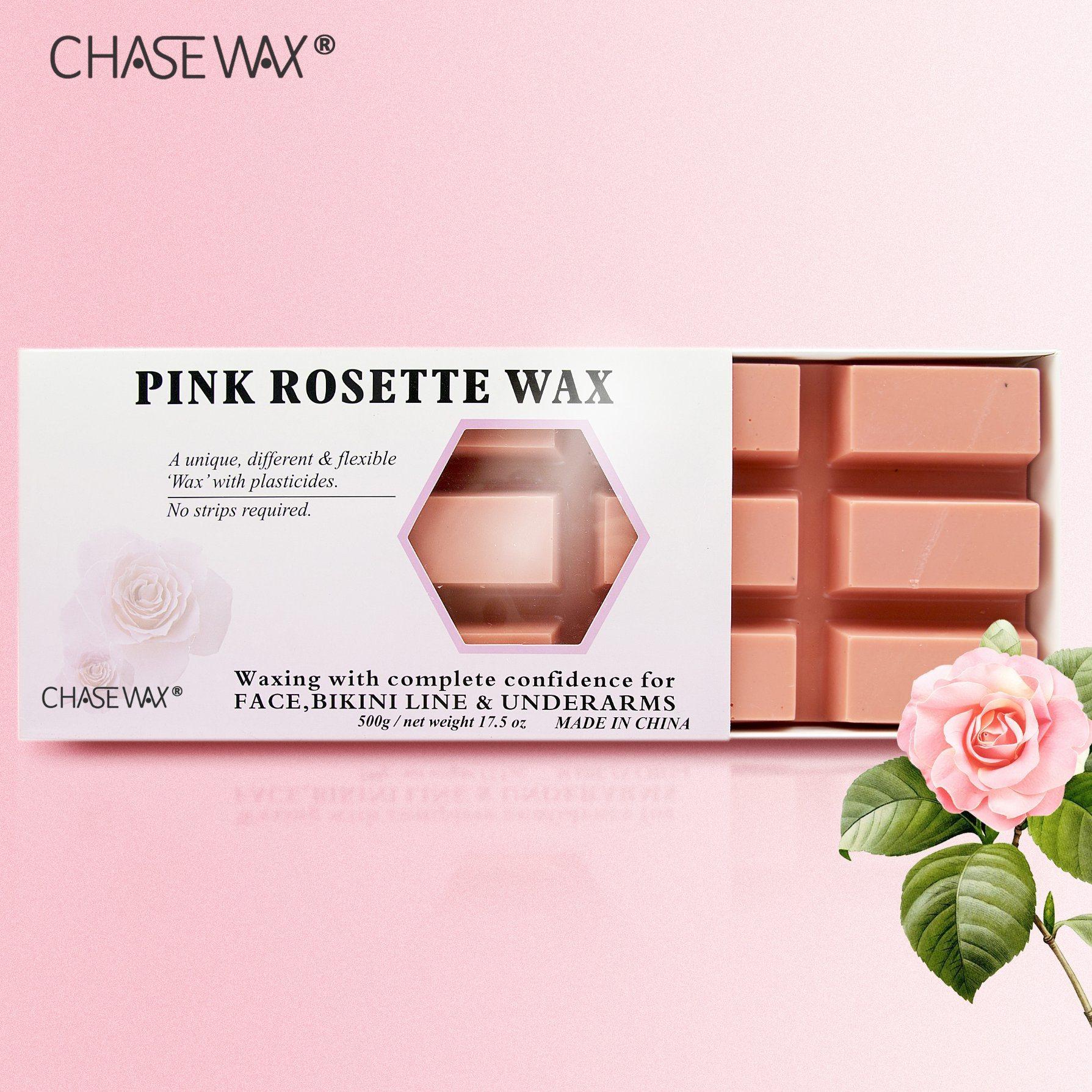 China Deep Cleaning 500g Rose Pink Depilatory Wax Beauty Hard Wax