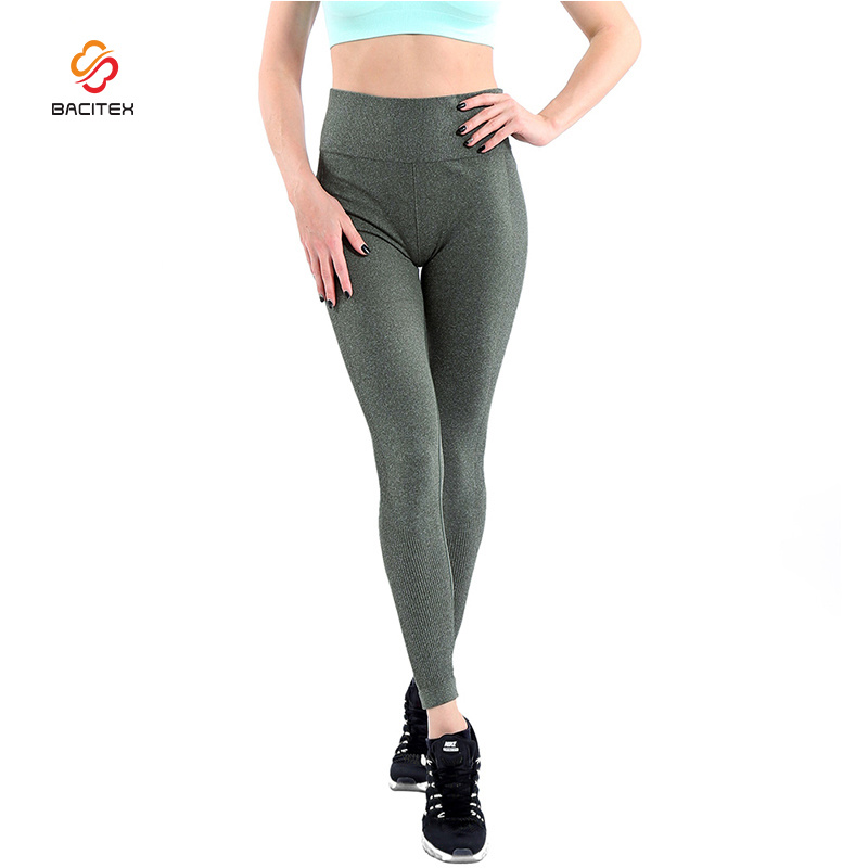 Big Plus Size Pure Color Women Tight Pants Lady Sexy Legging Pants for Yoga Wear pictures & photos