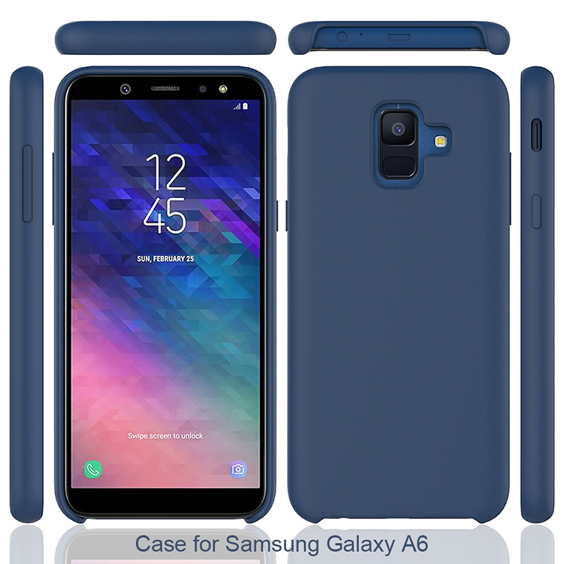 detailed pictures 55d28 6c51a [Hot Item] Amazon Hot Selling Mobile Phone Silicone Case for Samsung Galaxy  A6 2018