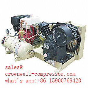 [Hot Item] 2475X13gh 2475f13gh 2475f14G Ingersoll Rand Truck-Mounted  Two-Stage Gas Driven Reciprocating Air Compressor 13-14 HP