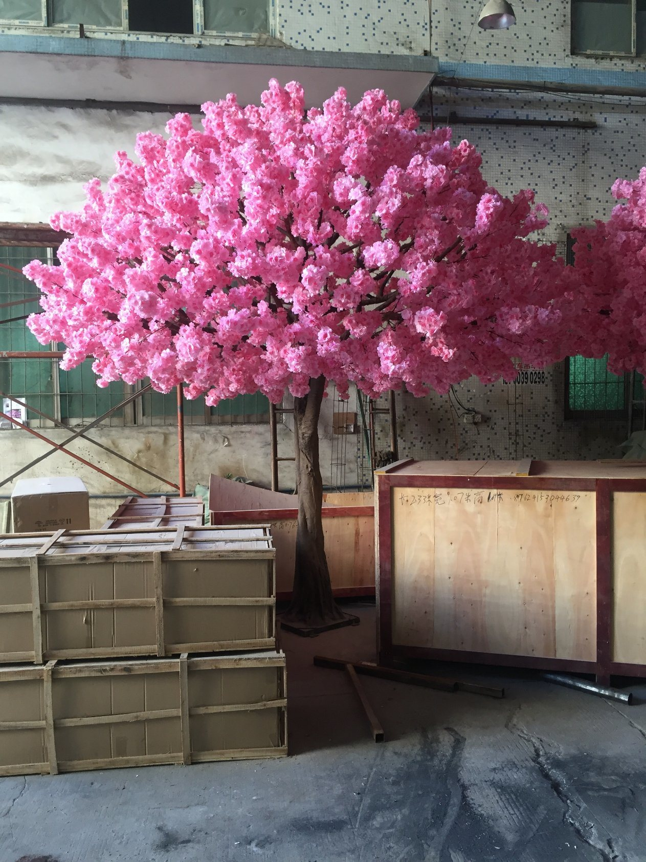 China Guangzhou Factory High Quality Artificial Decorative Cherry