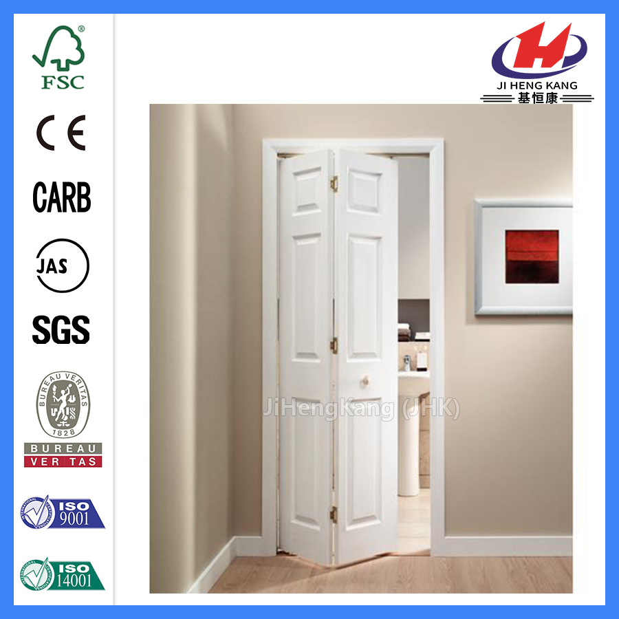 China Internal Bi Folding Bathroom Louvered Bifold Closet Doors