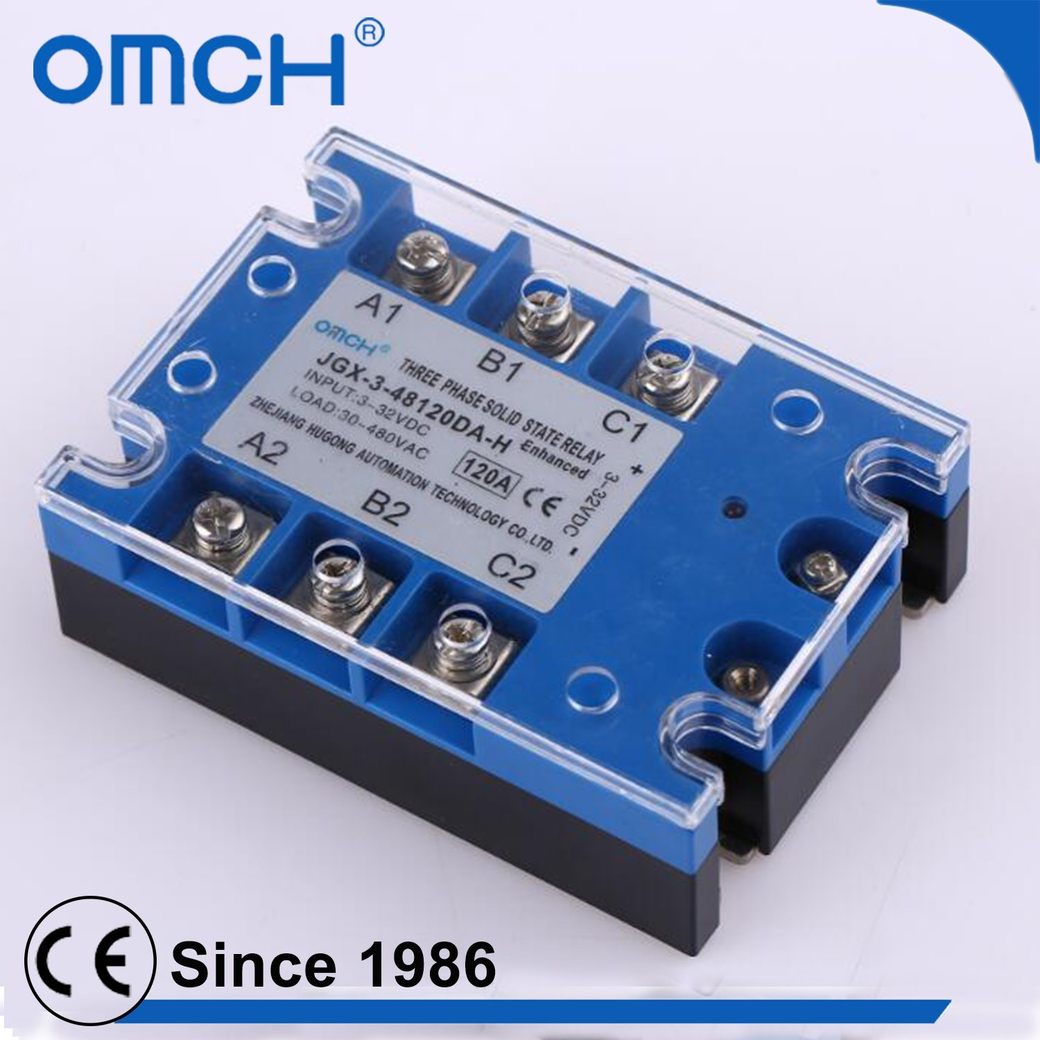 China A Quality High Voltage Three Phase Dc To Ac Solid State Electronic Relay