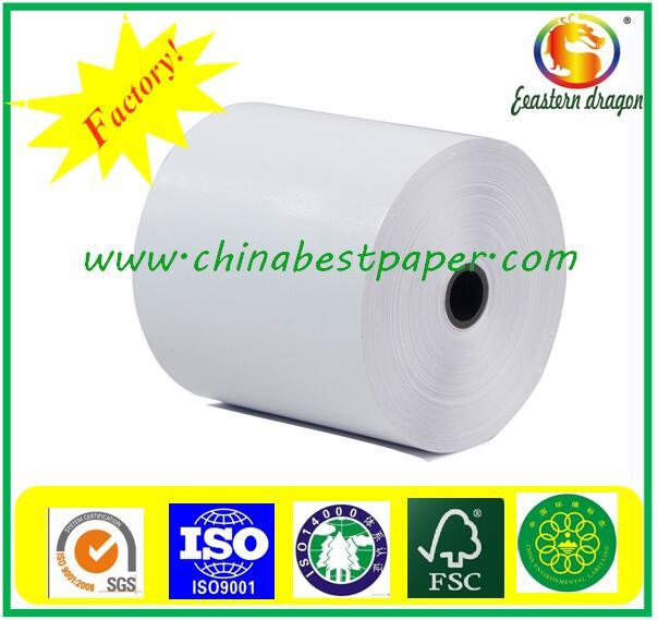 Virgin Pulp Top Quality 52GSM Thermal Fax Paper/Voucher print machine paper