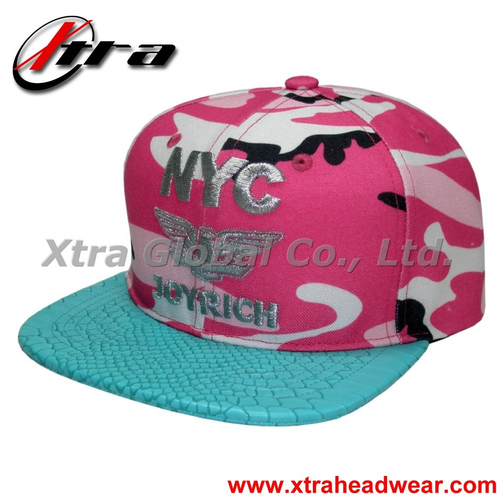 Leather Cap with Leather Strap (XT--F004)