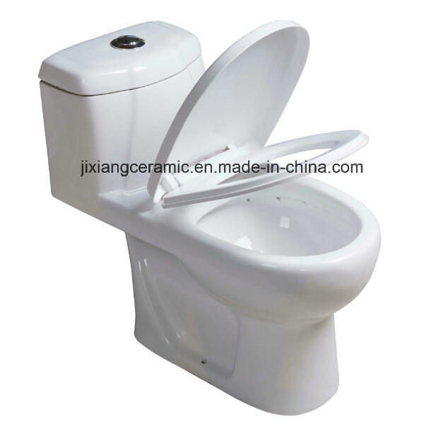 Washdown Bathroom Wc Closet One-Piece Toilet