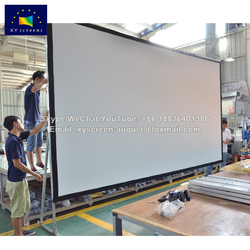 China Large Folding Frame Projector Screen Truss Frame