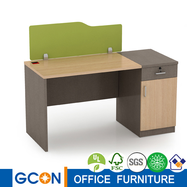 China Staff Workstation With Drawers Office Desk Side Table