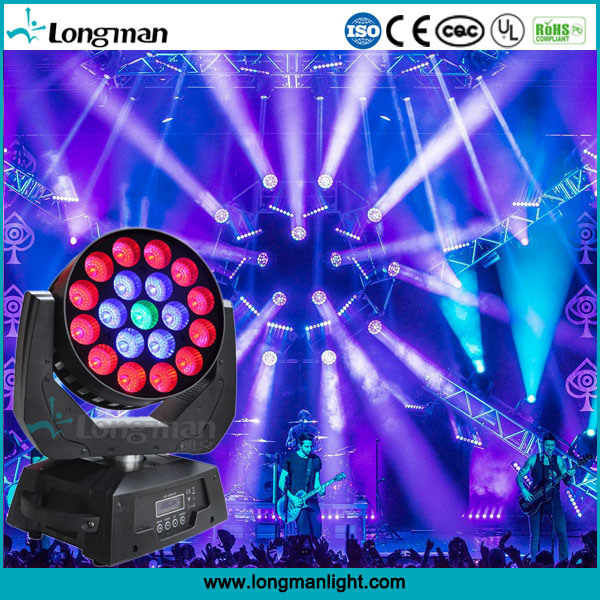 Super Bright 19X15W Full RGBW 4in1 Indoor LED Moving Head pictures & photos