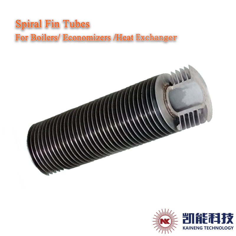 High Frequency Welded Stainless Steel Spiral Fin Tubes Carbon Steel Spiral Finned Tubes Factory Provided