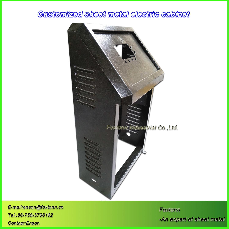 China Sheet Metal Parts Punching Electrical Control Box - China ...