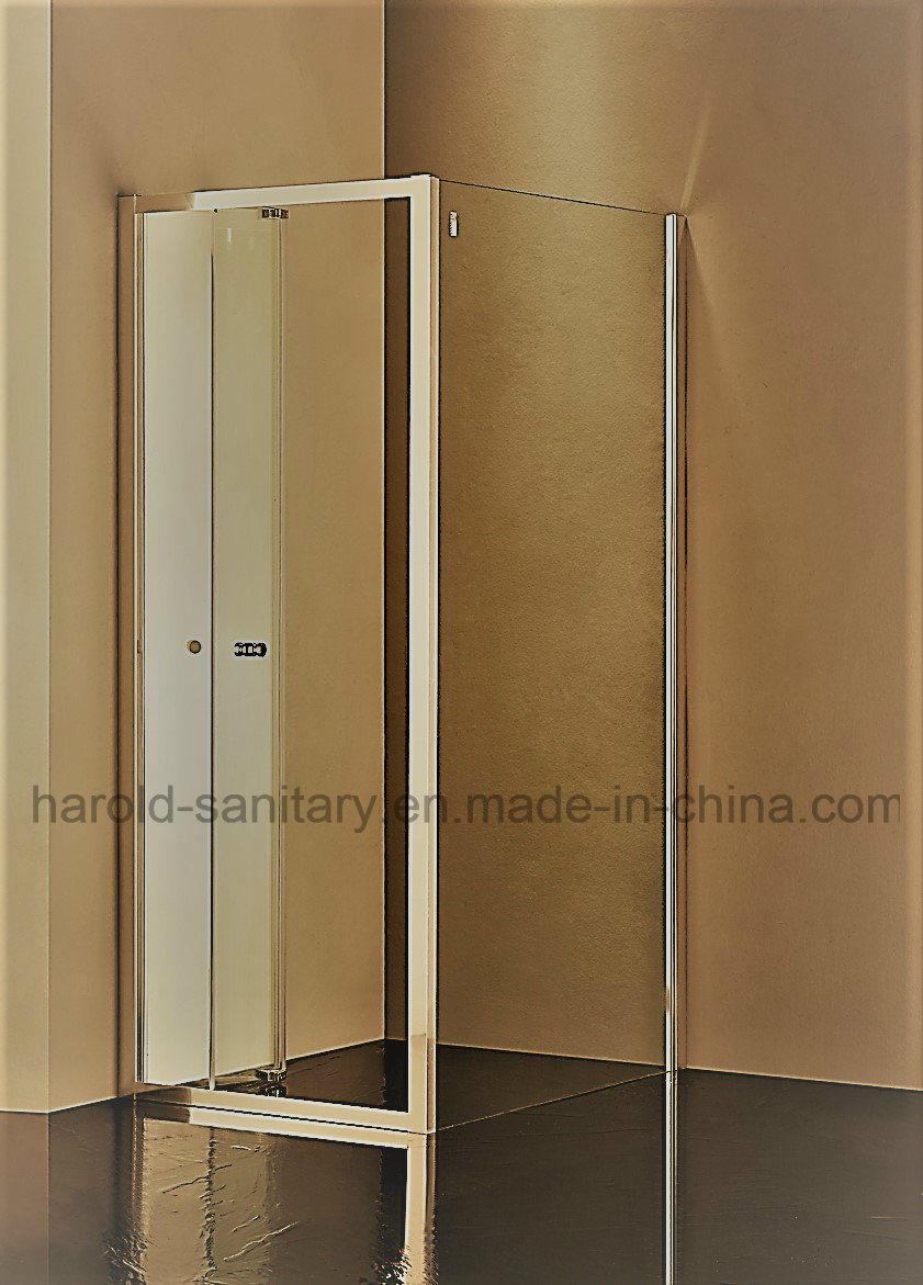 China Ss Hinge Folding Glass Shower Door Photos Pictures Made In
