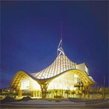 China Ptfe Coated Fiberglass Tensile Structure Waterproof