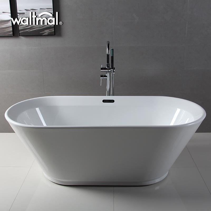 China Fall in Love White Quality Acrylic Soaking Bath Tub (WTM-02520 ...