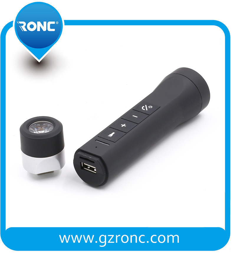 China 8 in 8 Multi Function Bluetooth Speaker with Power Bank