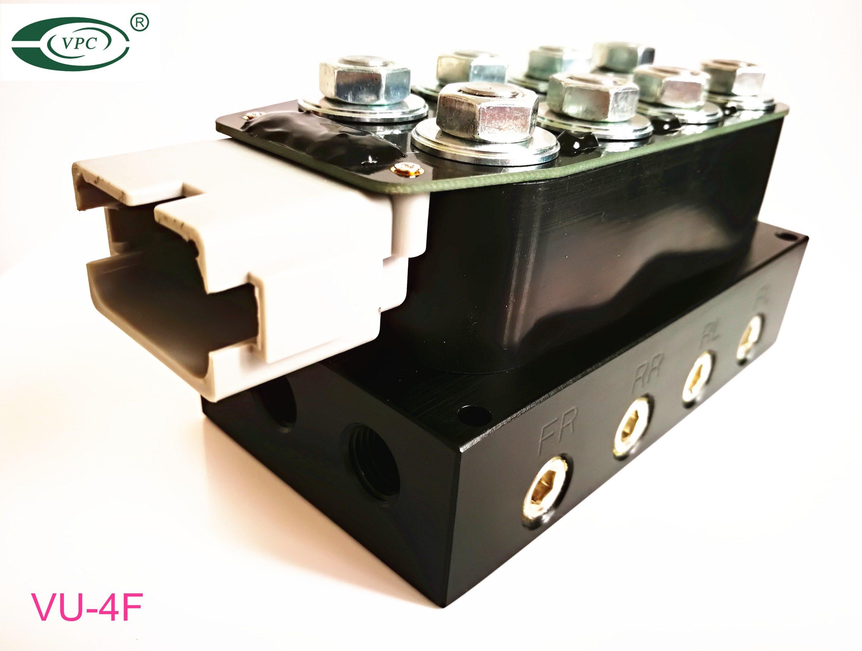 China Air Suspension Control Wiring Accu Rate 3 8 Solenoid Valve Manifold Unit