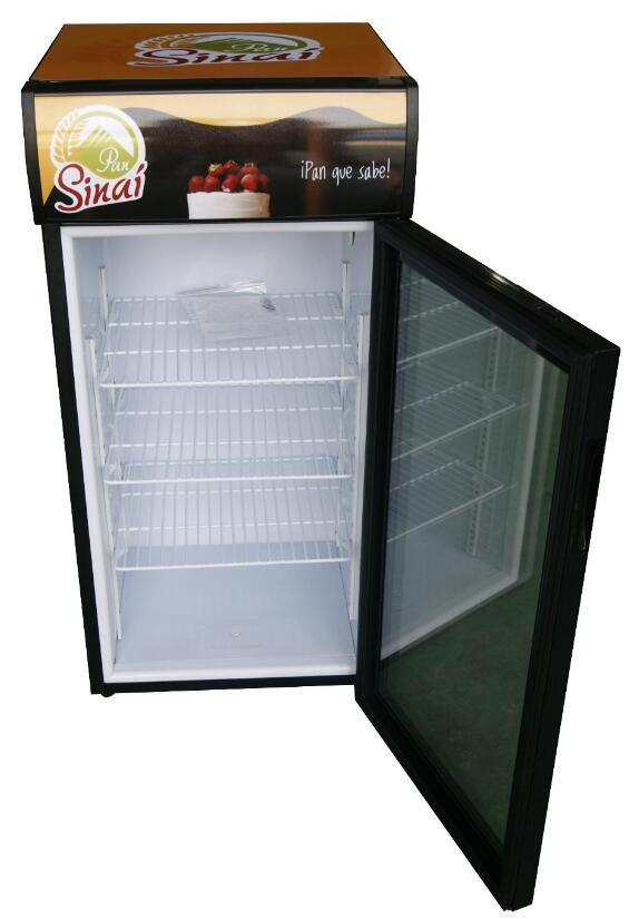 China Small Table Top Fridge With Glass Door For Drink JGASC - Small table top refrigerator