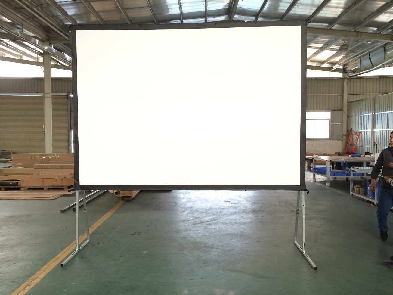 Fast Folding Projection Screen with Draper Kits Custom Sizes