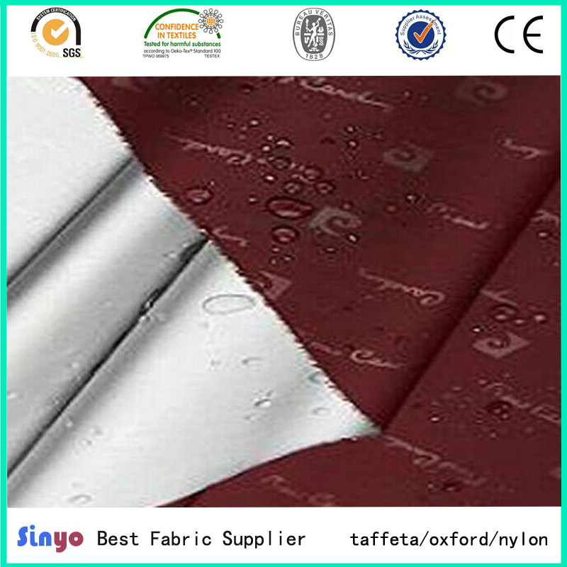 Silver Coated 100% Polyester Taffeta Blackout Fabric for Curtain /Car Body Covers