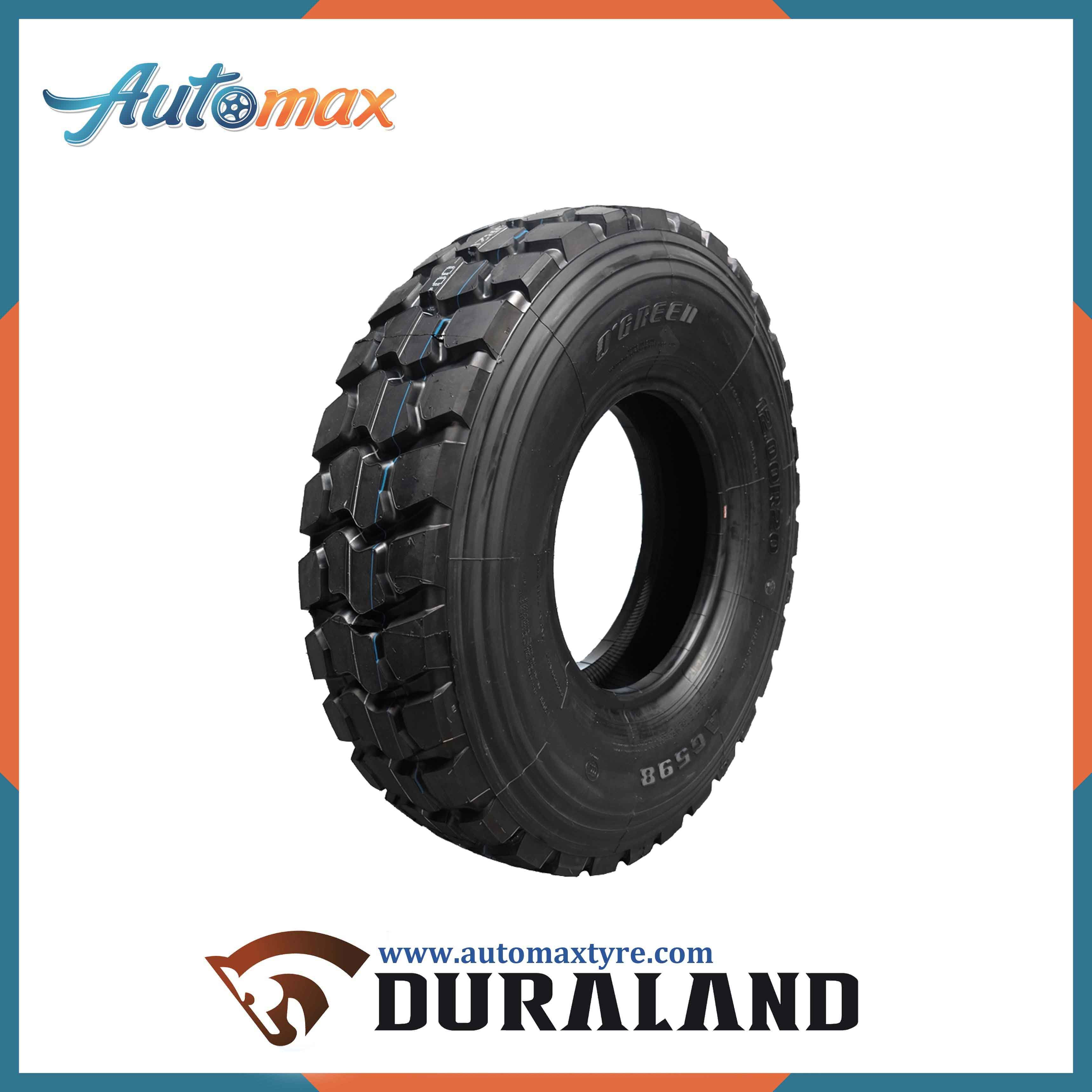 Big Block Design Pattern Truck Tyre for off Road Serivce