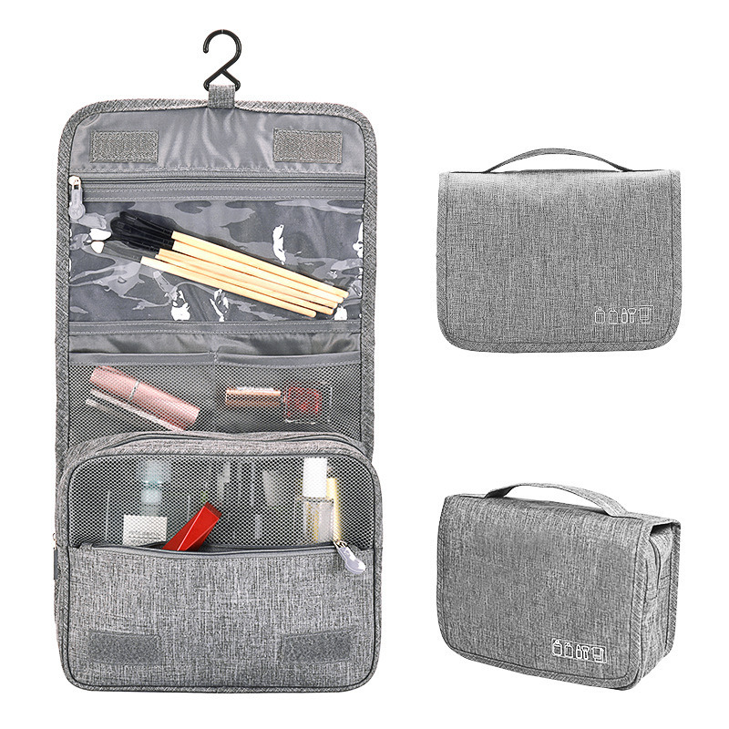 Large Hanging Toiletry Cosmetic Organizer Travel Pouch pictures & photos