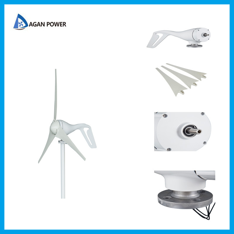 China Best Quality 100W Small Wind Turbine for Car Use Photos