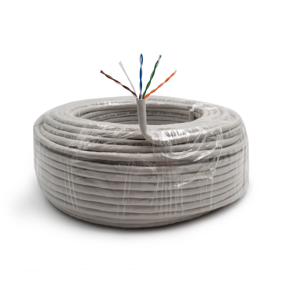 China Grey 1000ft Bulk Cat6 Cca Ethernet Cable Wire Utp Pull Box Lan Wiring Computer Cat5e