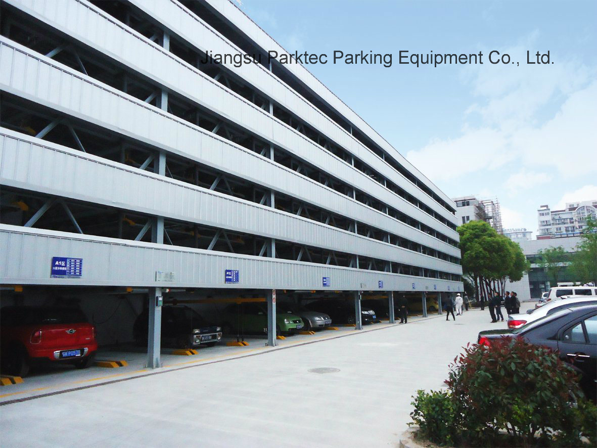 Unmanned Puzzle Parking Garage