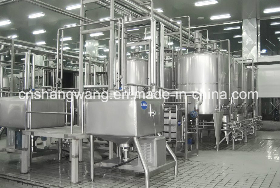 Trun-Key Dairy Yogurt Production Line pictures & photos