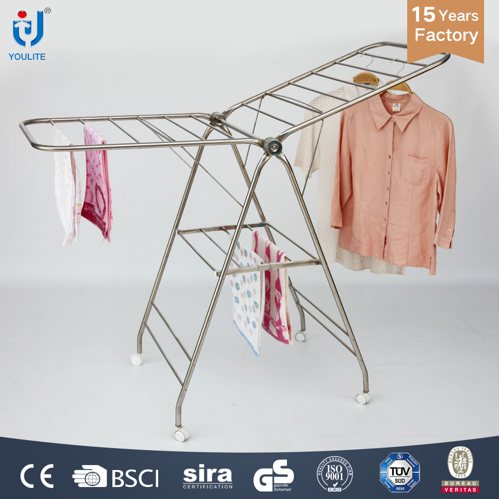 Free Standing Clothes Drying Rack