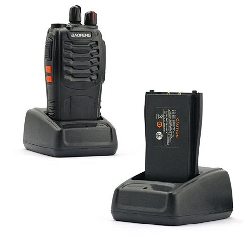 Cheap Wireless Walkie-Talkie 2-Way Radio UHF/VHF Interphone