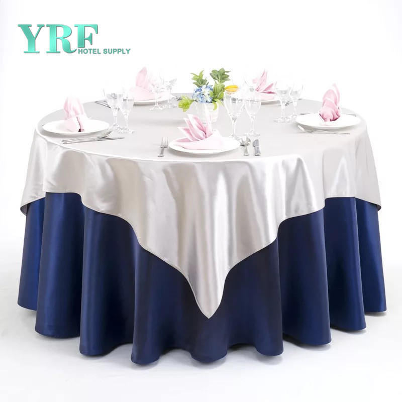 China Custom 90 Round Polyester Table Cloth Decorative Table Covers