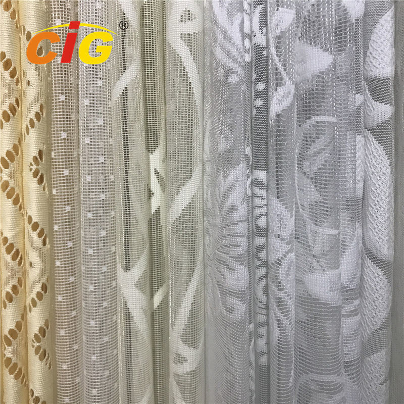 China 100 Polyester Lace Curtain Fabric Lace Table Cloth Upholstery