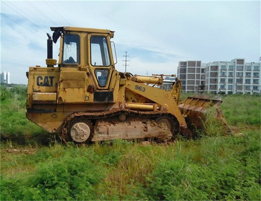 China Used Cat963 Wheel Loader for Sale Cat 963 Photos
