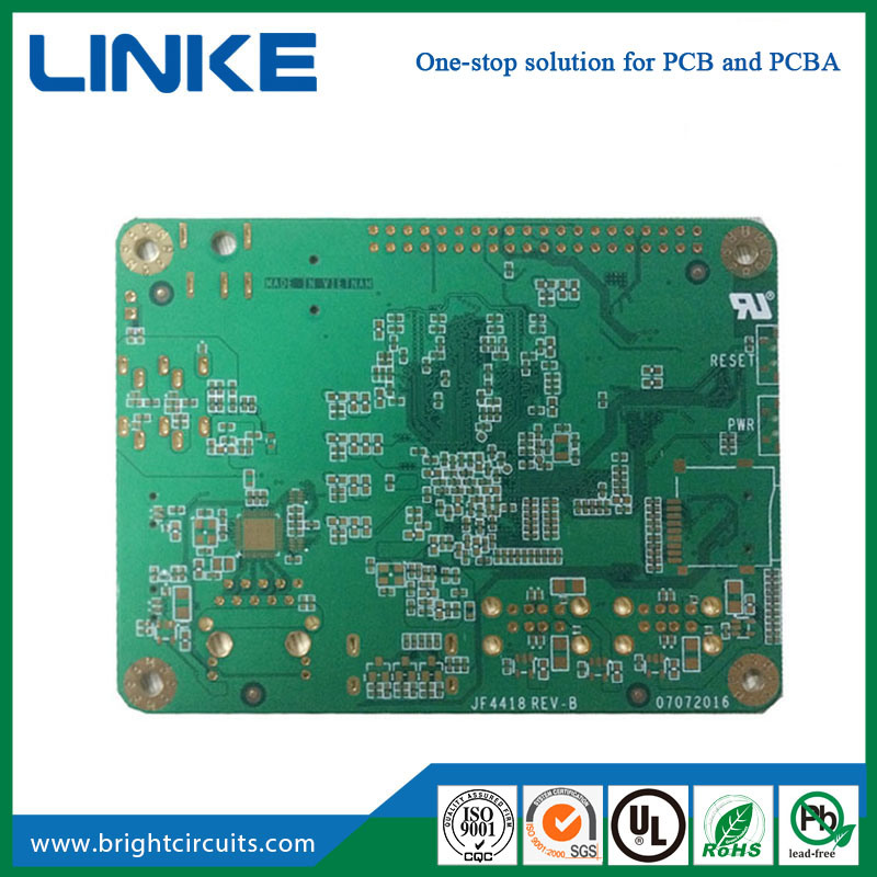China HASL Enig Low Cost Online LED PCB Double Sided Printing