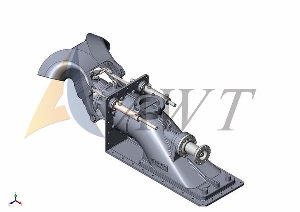 China Jt272 Waterjet Pump Propulsion Pump China Waterjet Propulsion Pump