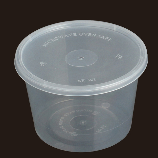 China Microwave Food Container Plastic Bowl Disposable Fast Soup