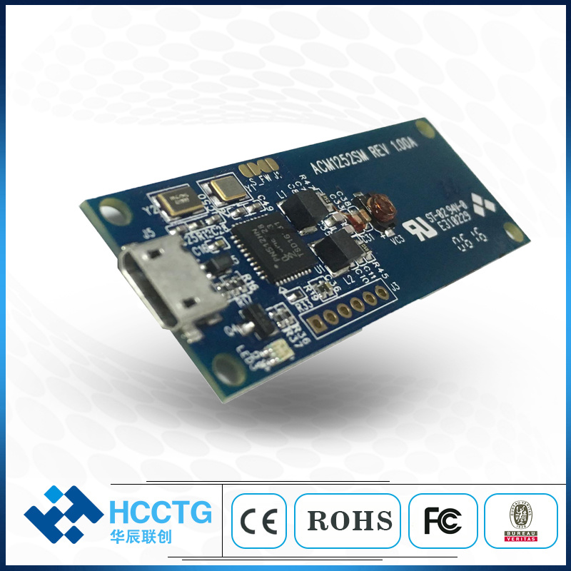 [Hot Item] 13 56 MHz USB Small Contactless NFC RFID Card Reader Module  (ACM1252U-Z2)