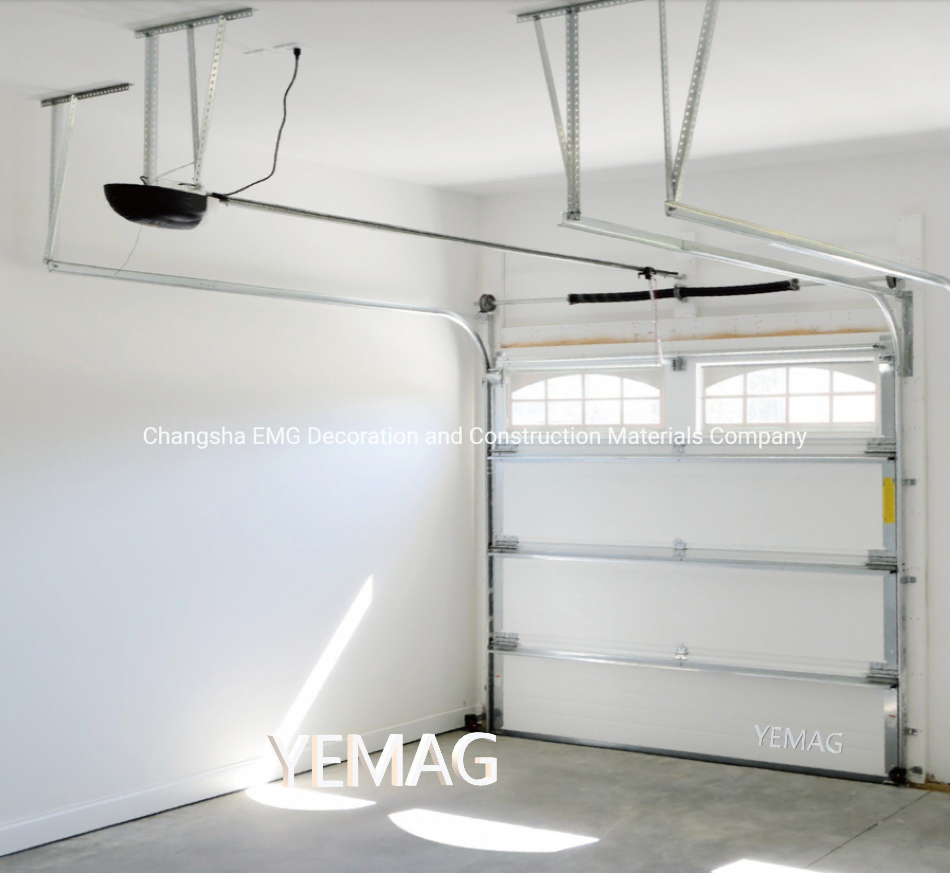 China Steel Pu Insulated Residential Ce Approved Automatic Overhead Sectional Standard Lift Roller Up Rolling Garage Door With Pedestrian Door China Garage Doors Automatic Garage Door