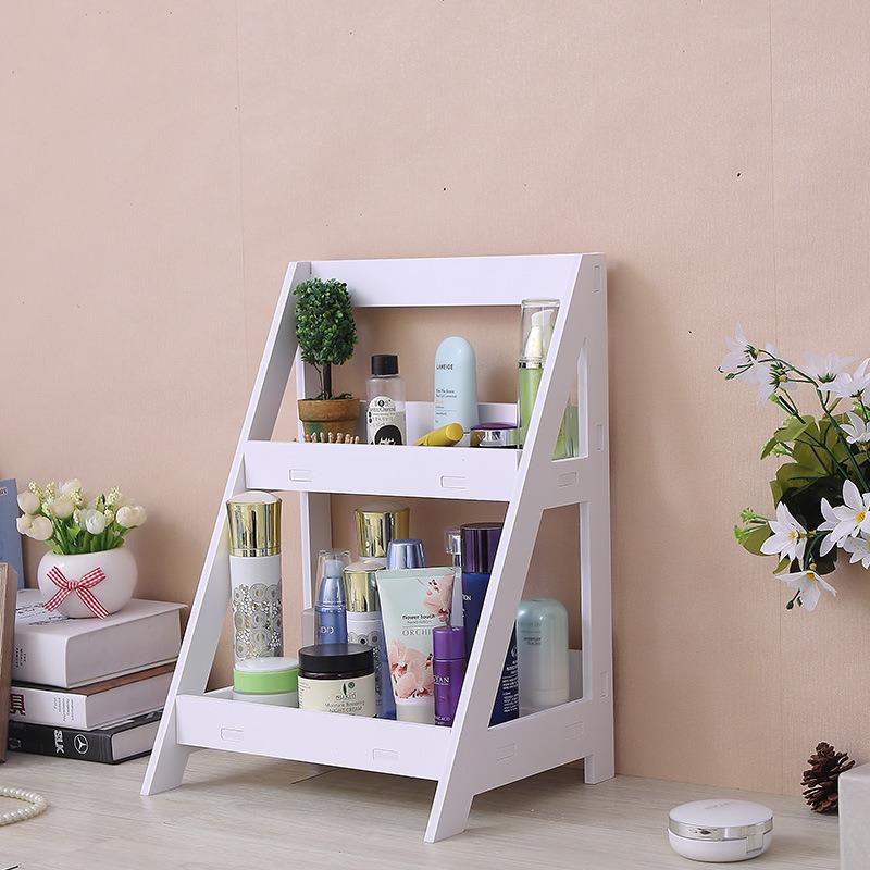 China 2021 Hot Sale Wood Plastic Decorative Bathroom Racks Storage Shelf China Storage Container And Storage Box Price