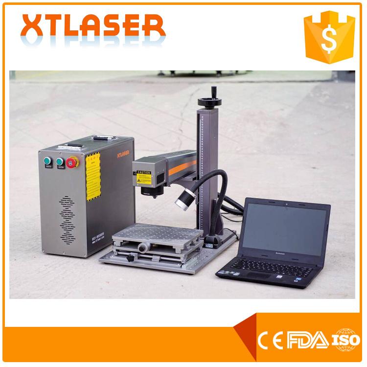 [Hot Item] 20W Mini Fiber Laser Marking Photos on Stainless Steel Pendant