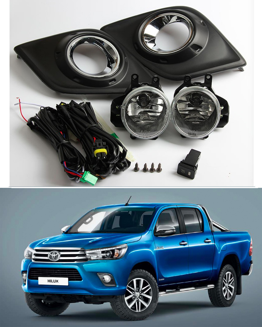 Toyota Hilux Revo Wiring Start Building A Diagram China After Market Fog Lamp Fit For 2015 On Rh Haoyi601 En Made