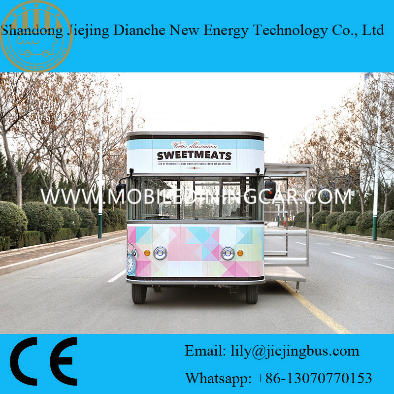 Most Fashionable Design Electric Mobile Food Van pictures & photos