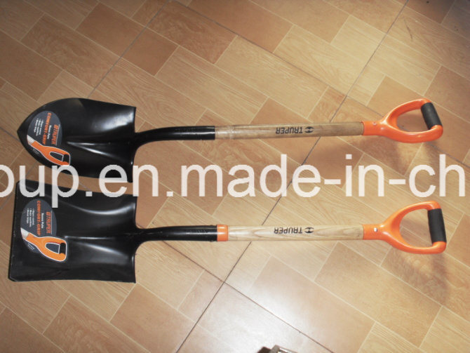 Wood Handle Shovel pictures & photos